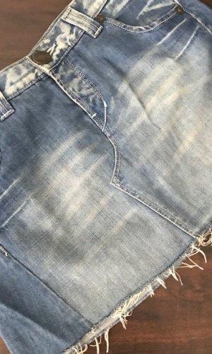 Oasis Spijkerrok staalblauw