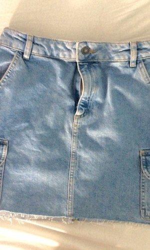 Subdued Spijkerrok veelkleurig Textielvezel