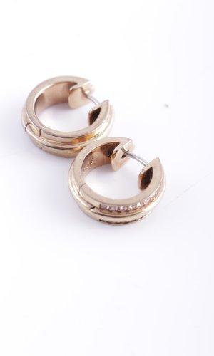 Jette Pendientes de clip color oro estilo «business»