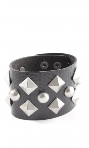 Jimmy Choo for H&M Leather Bracelet black extravagant style