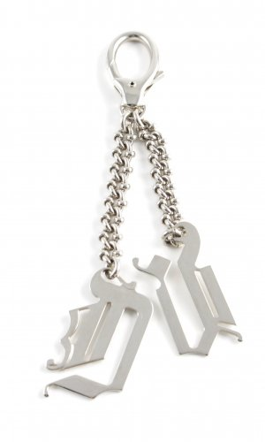 John Galliano Key Chain silver-colored casual look