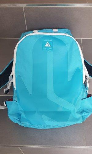K2 Sac à dos pour ordinateur portable bleu clair-turquoise
