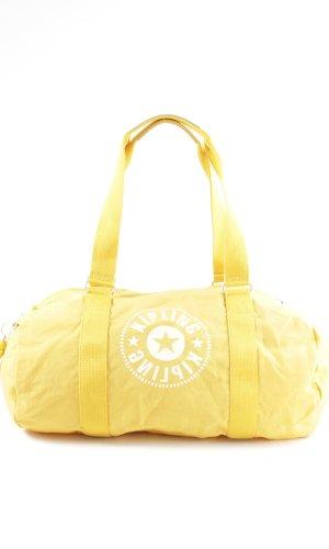 Kipling Sports Bag primrose-white themed print casual look