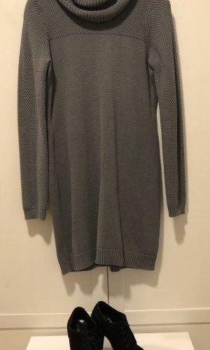 Esprit Sweaterjurk grijs Katoen