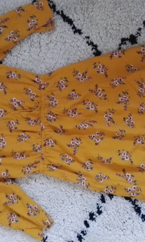 H&M Divided Hippiejurk licht Oranje Viscose