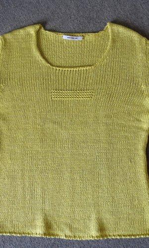 Sem per lei Gehaakt shirt grasgroen-weidegroen Gemengd weefsel