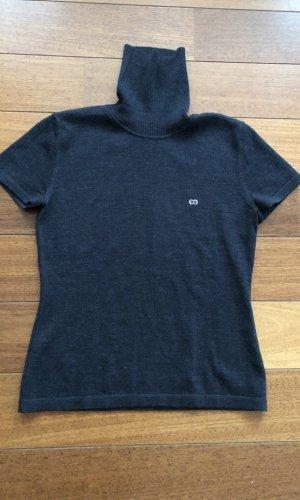Escada Sport Sweater met korte mouwen antraciet