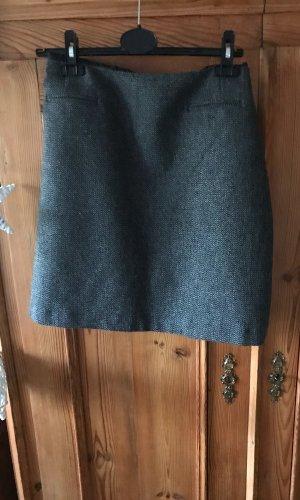 s.Oliver Wollen rok grijs-zwart