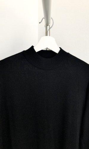 H&M Sweaterjurk zwart