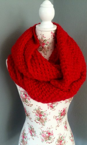 Topshop Tube Scarf red