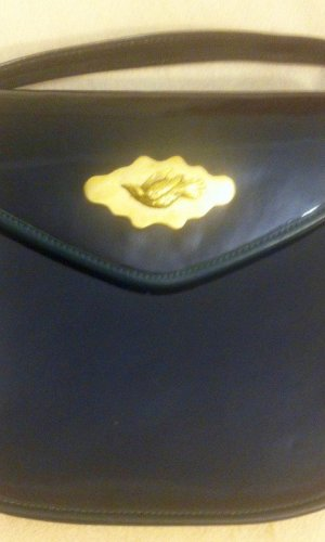 Traditional Bag black-gold-colored