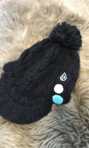 Volcom Chapeau en fourrure noir
