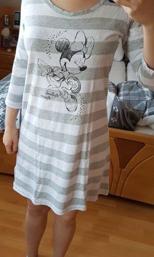 Pijama blanco-gris claro