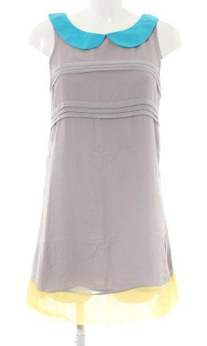 Lavand schulterfreies Kleid mehrfarbig Elegant