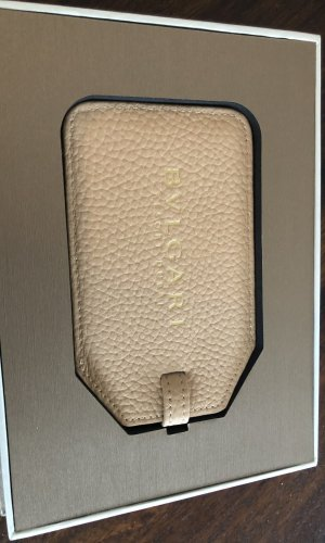 Bvlgari Key Chain cream-oatmeal leather