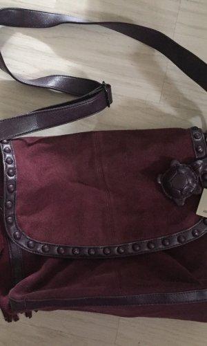 Carpisa Fringed Bag purple