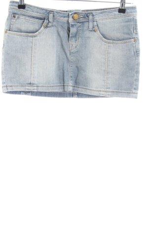 Lee Spijkerrok blauw straat-mode uitstraling