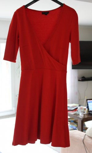 Topshop A Line Dress multicolored viscose