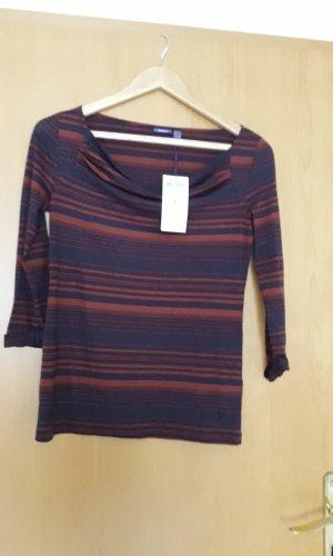 Mexx Waterval shirt donkerblauw-donker oranje