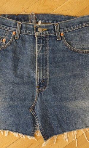 Levi's Spijkerrok blauw Textielvezel
