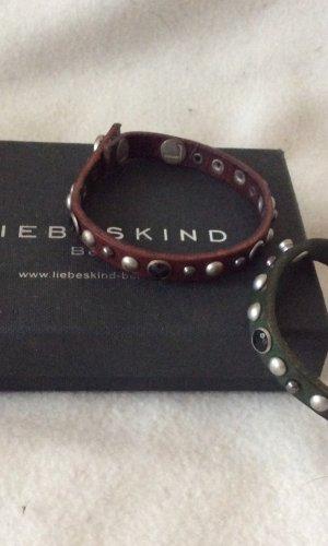 Liebeskind Complemento para los brazos color bronce-petróleo