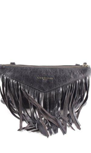 Liebeskind Fringed Bag black Aztec print