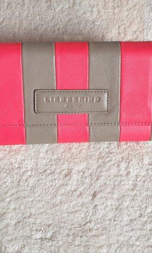 Liebeskind Wallet light grey leather