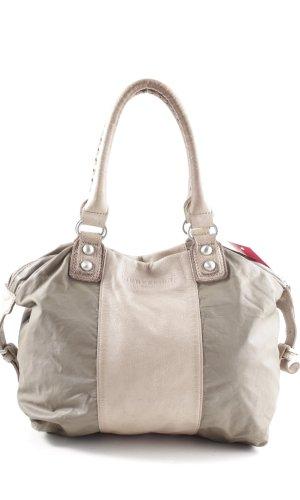 Liebeskind Handbag light grey-natural white business style