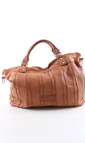 Liebeskind Carry Bag brown striped pattern business style