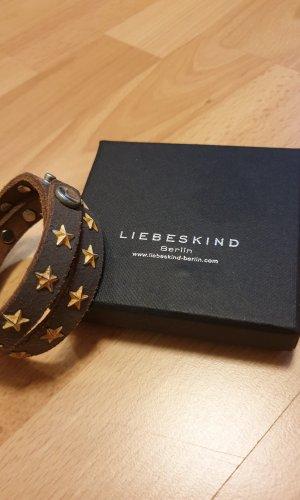 Liebeskind Leather Bracelet brown