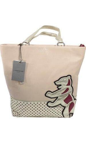 Liebeskind Shoulder Bag neon pink leather