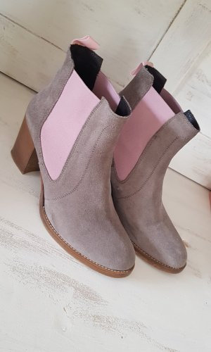 Liebeskind Ankle Boots grey-light pink