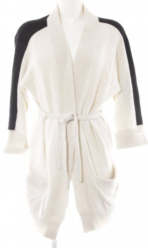 Liebeskind Knitted Cardigan pale yellow-black casual look