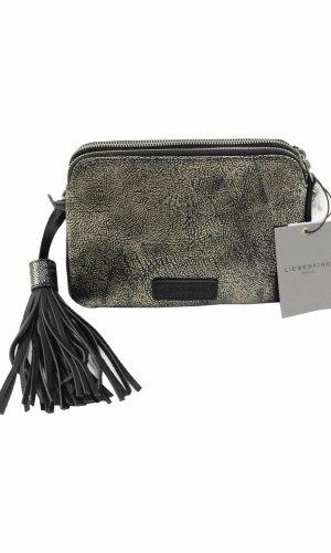 Liebeskind Crossbody bag grey leather
