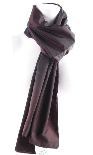 Lilian Stola braambesrood-zwart elegant