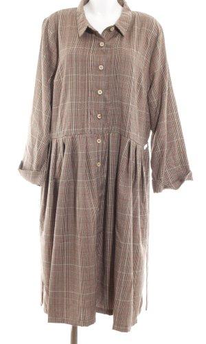 Lindy Bop Robe chemise motif à carreaux style décontracté