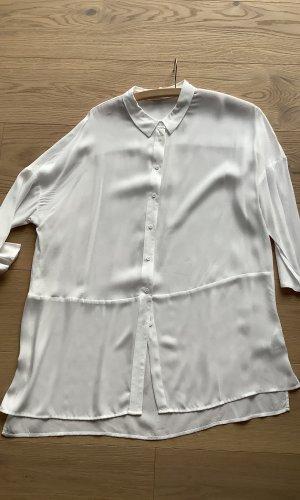 Opus Lange blouse licht beige