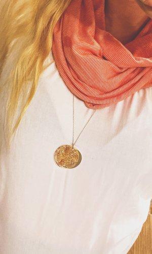Esprit Écharpe ronde blanc-orange