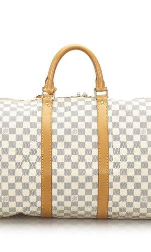 Louis Vuitton Bolso de viaje blanco