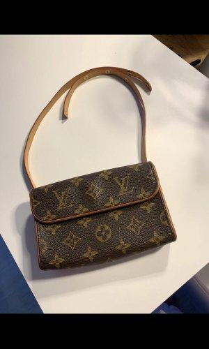Louis Vuitton Riñonera marrón oscuro-marrón