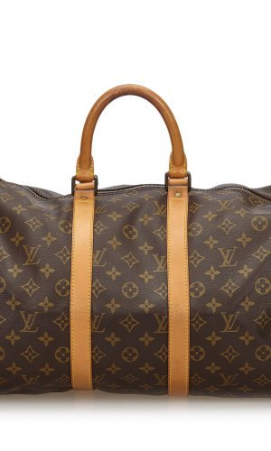Louis Vuitton Bolso de viaje marrón