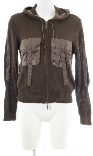 Luisa Cerano Strickjacke khaki Casual-Look