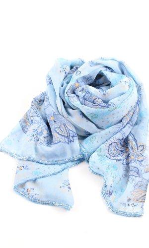 Luisa Spagnoli Stola blauw elegant