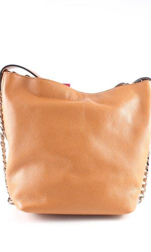 Luisa Vannini Shoulder Bag light orange casual look
