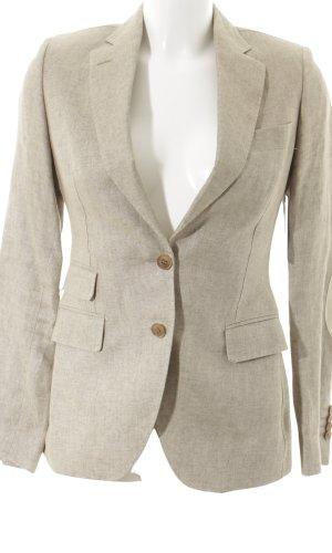 Made in Italy Kurz-Blazer graubraun klassischer Stil