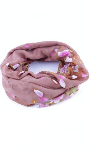 Écharpe ronde motif de fleur style décontracté