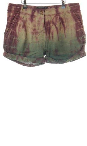 Maison Scotch Shorts bronzefarben-grün Farbverlauf Casual-Look