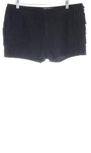 Maison Scotch Shorts schwarz Country-Look