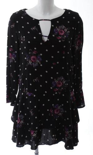 Mango casual Lange blouse bloemenprint casual uitstraling