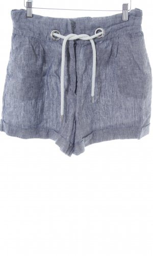 Mango casual Shorts blau meliert Casual-Look